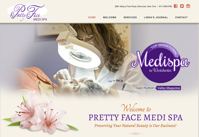 Beauty spa website by JosephDePinho