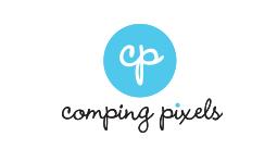 Comping Pixels Logo design by DePinho Design, Mahopac New York