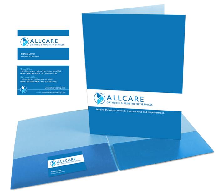 Allcare pocket folder by DePinho Design
