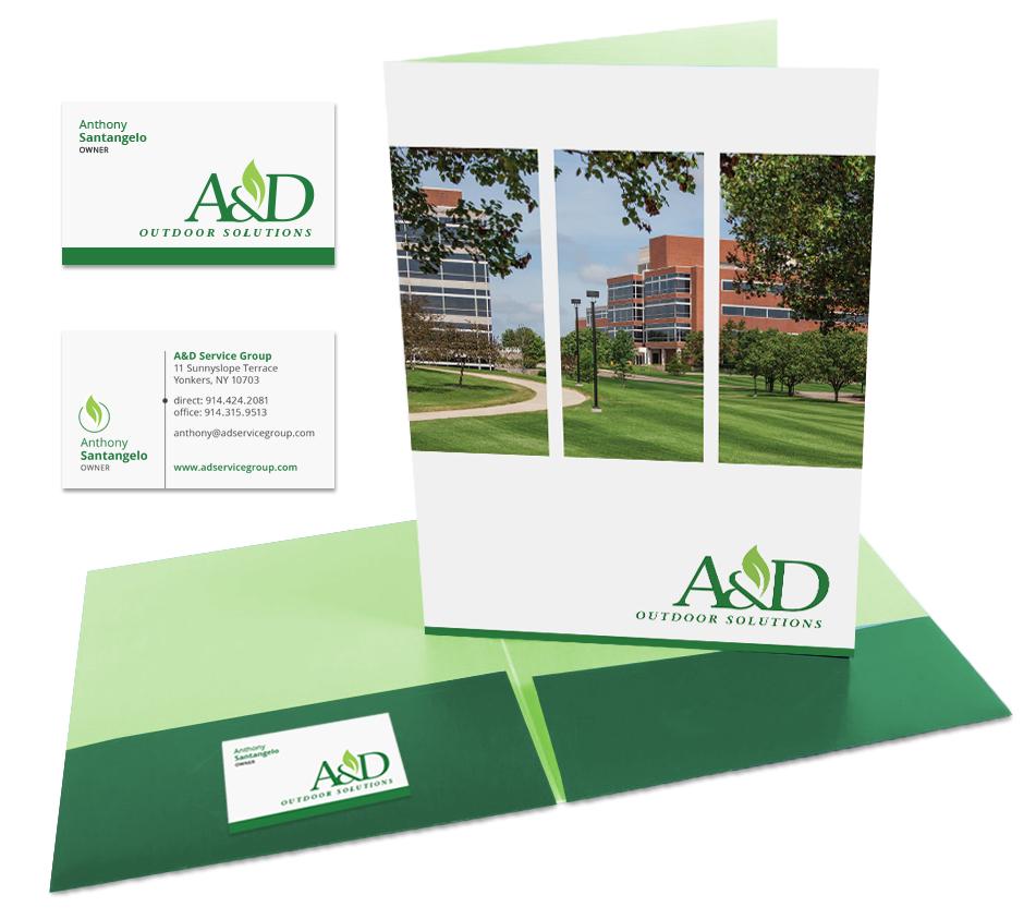 Pocket Folder Design by DePinho Design